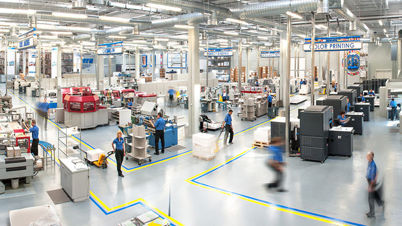 New Era Publications International ApS Manufacturing